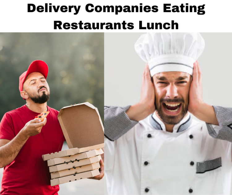 Delivery companies and restaurants